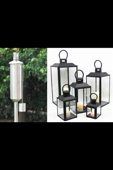 Candle Lanterns / Garden Torch