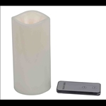 Flameless LED Candle with Remote Control - Large