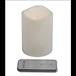 Flameless LED Candle with Remote Control - Medium